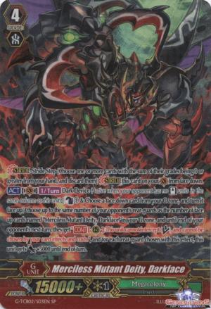 Merciless Mutant Deity, Darkface