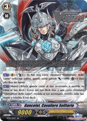 Gancelot, Cavaliere Solitario