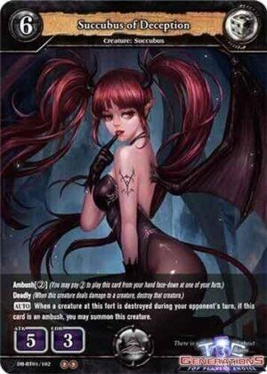 DB-BT01-102 Succubus of Deception