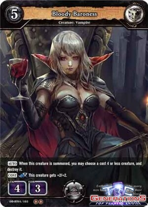 DB-BT01-103 Bloody Baroness