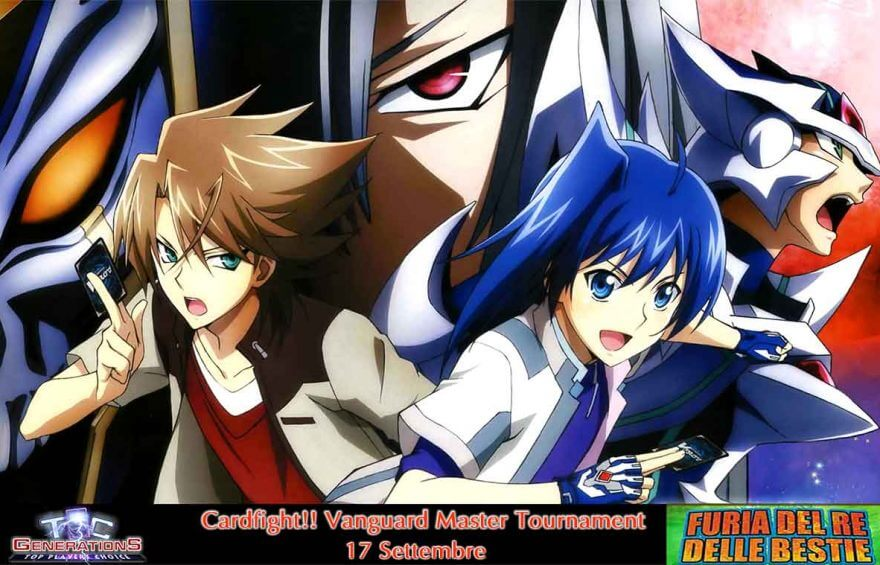 Cardfight!! Vanguard Master Tournament 17 Settembre