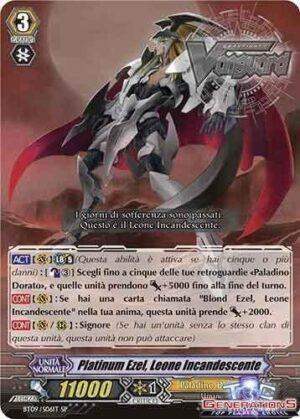 Platinum Ezel, Leone Incandescente SP