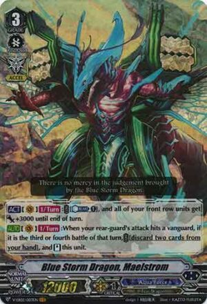 Blue Storm Dragon, Maelstrom V-EB02/003EN VR