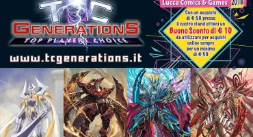 TCGenerationS a Lucca Comics & Games 2018