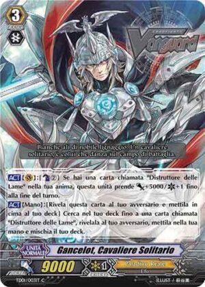 Gancelot, Cavaliere Solitario TD01/003IT C