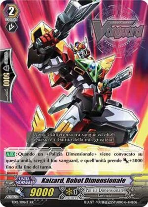 Kaizard, Robot Dimensionale TD12/006IT RR
