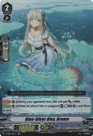 Blue-Silver Diva, Brume V-EB05/011EN RR