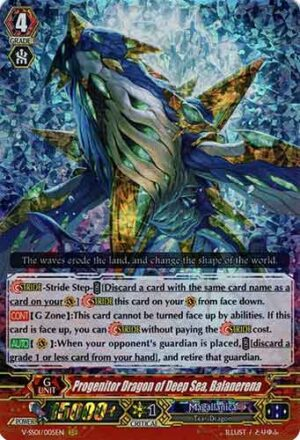 Progenitor Dragon of Deep Sea, Balanerena V-SS01/005EN