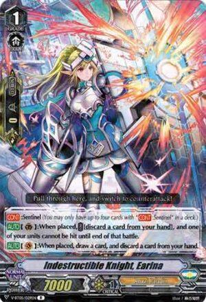 Indestructible Knight, Earina V-BT05/029EN R