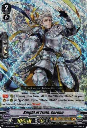 Knight of Truth, Gordon V-BT05/006EN RRR