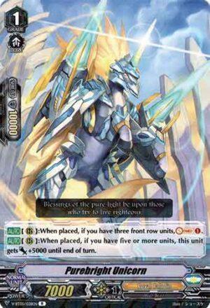 Purebright Unicorn V-BT05/028EN R