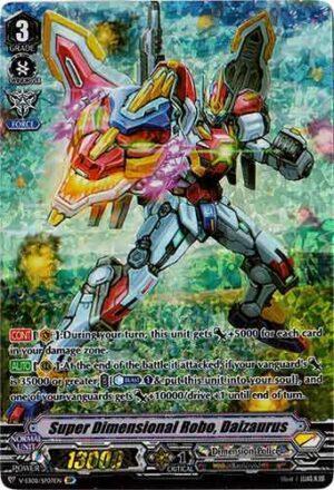 Storm Rider Aqua Force Cardfight Vanguard Nikoloz V-EB08//018EN RR