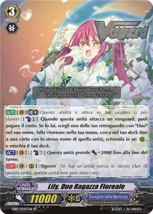 Lily, Duo Ragazza Floreale EB10/S04IT-W SP