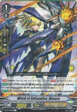 Witch of Extirpation, Bheara V-BT06/030EN R