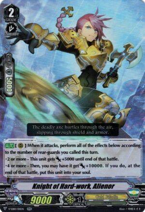 Knight of Hard-work, Alienor V-EB10/011EN RR