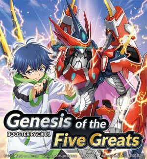 Busta D Booster Set 01 Genesis of the Five Greats
