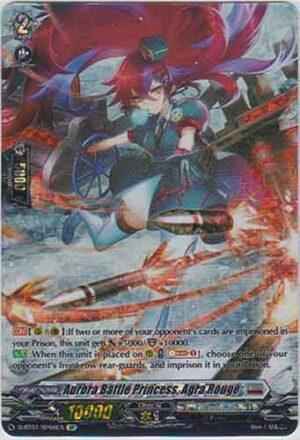 Aurora Battle Princess, Agra Rouge D-BT01/006EN SP