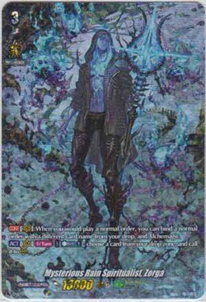 Mysterious Rain Spiritualist, Zorga D-BT01/009EN SP